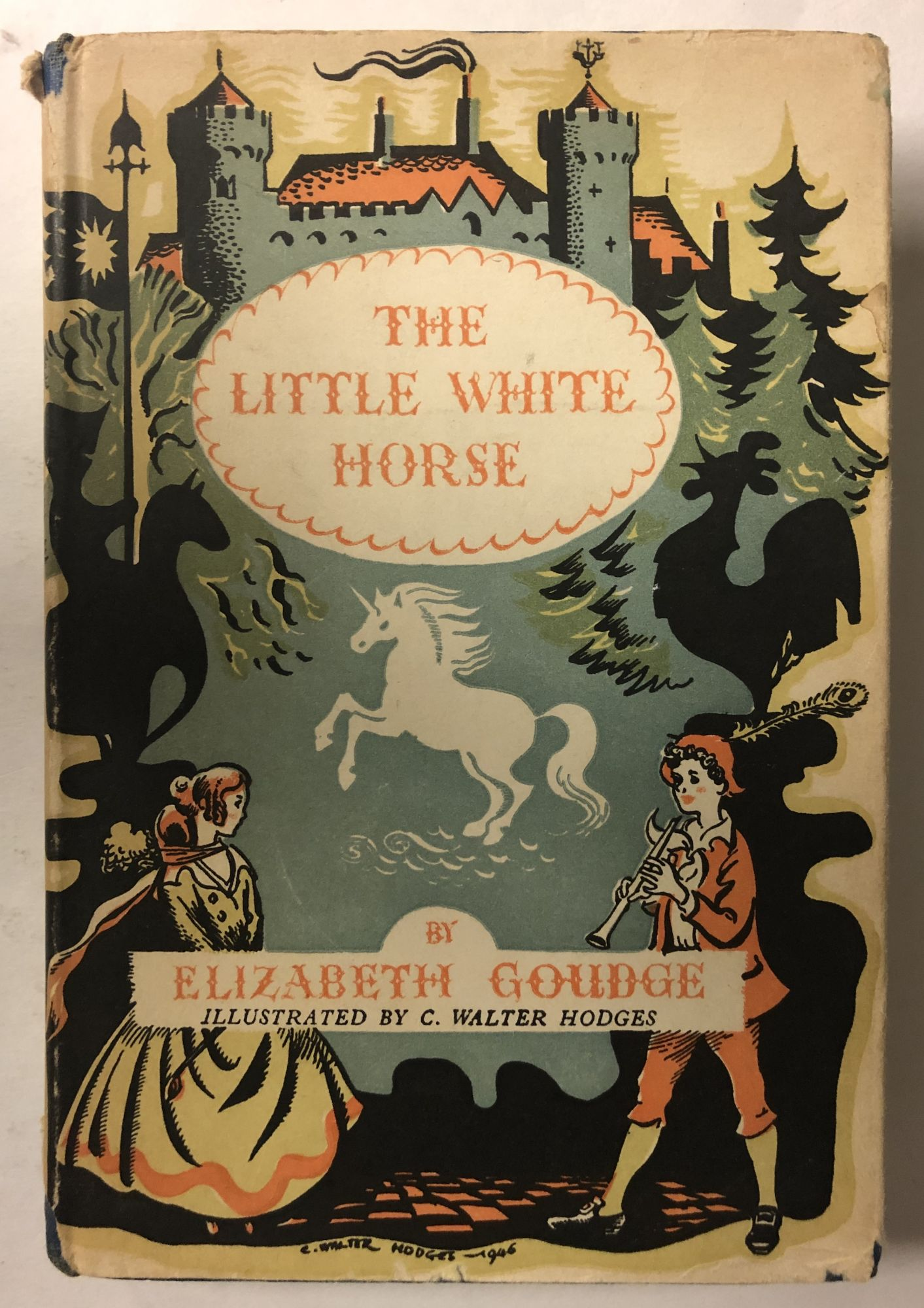 The Little White Horse Elizabeth Goudge 2nd Printing