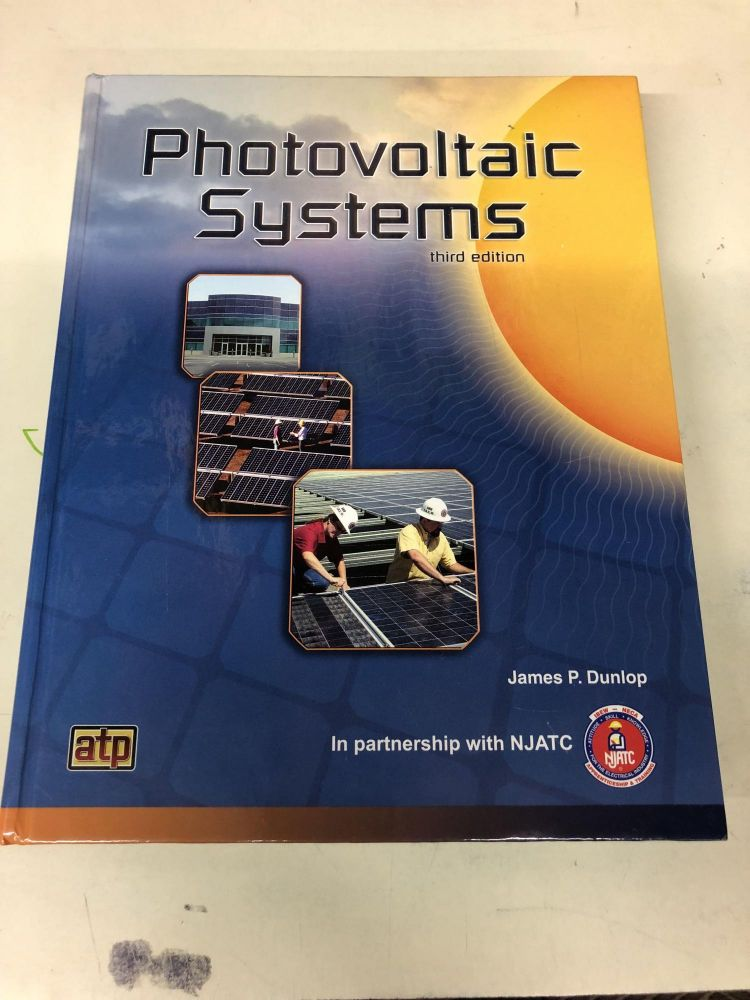 Photovoltaic Systems. National Joint Apprenticeship and Training.