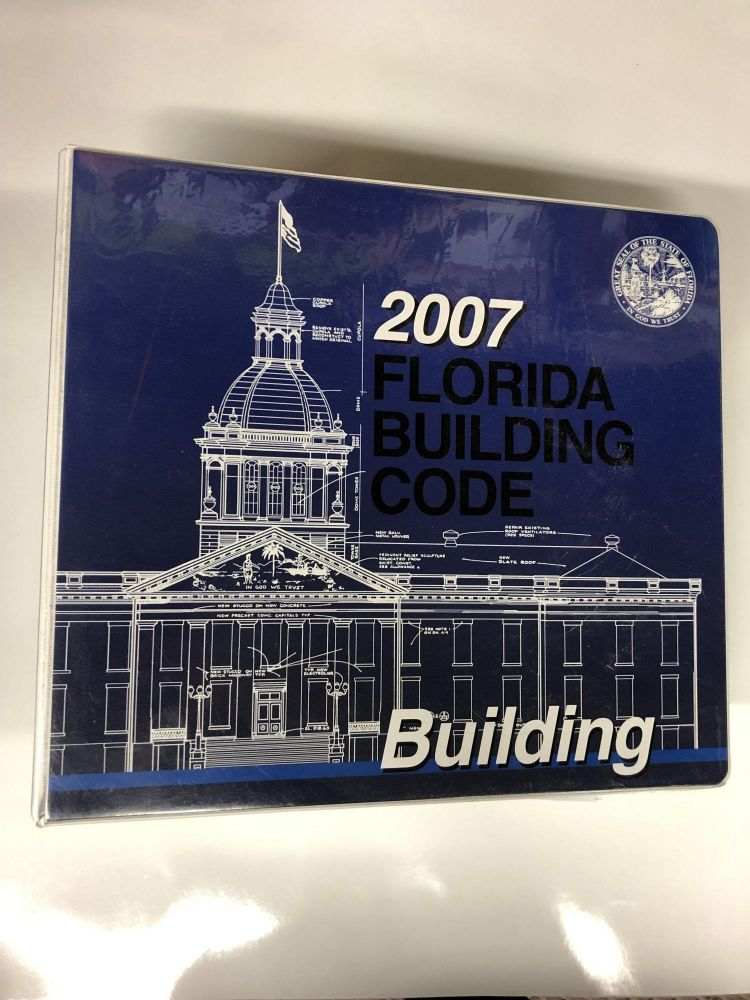 2007 Florida Building Code 1st (first) editon Text Only. International Code Council.