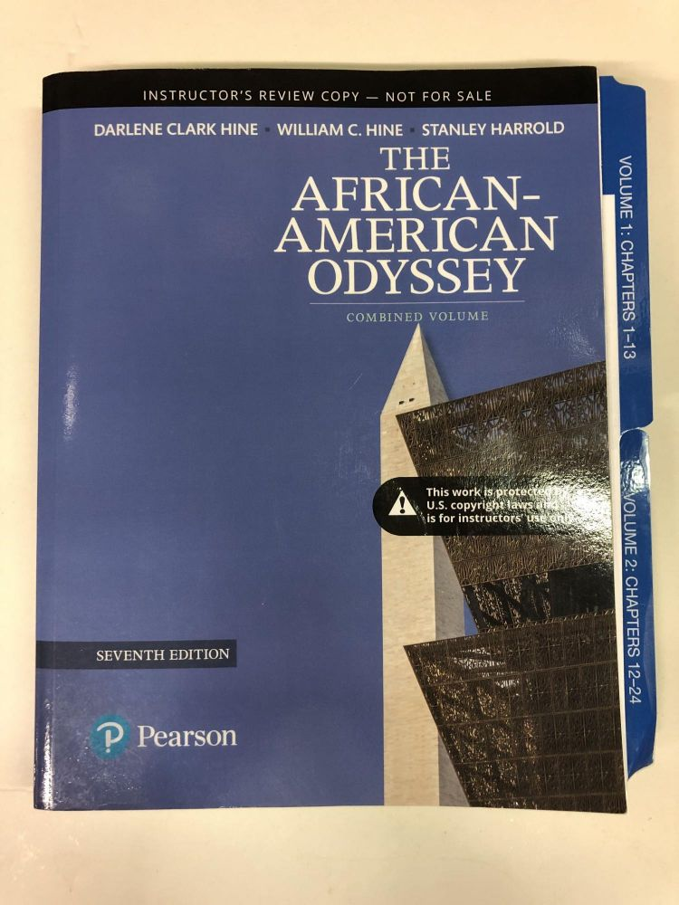 Revel for The African-American Odyssey, Combined Volume. Darlene Clark Hine.
