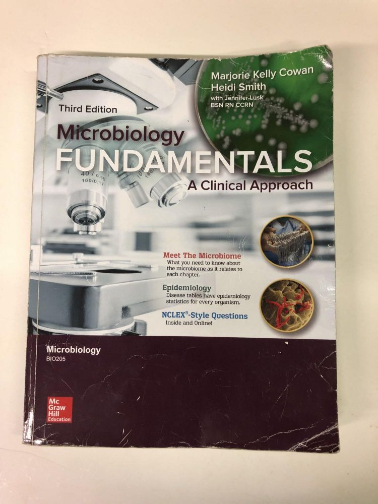 Microbiology Fundamentals. Marjorie Kelly Cowan.