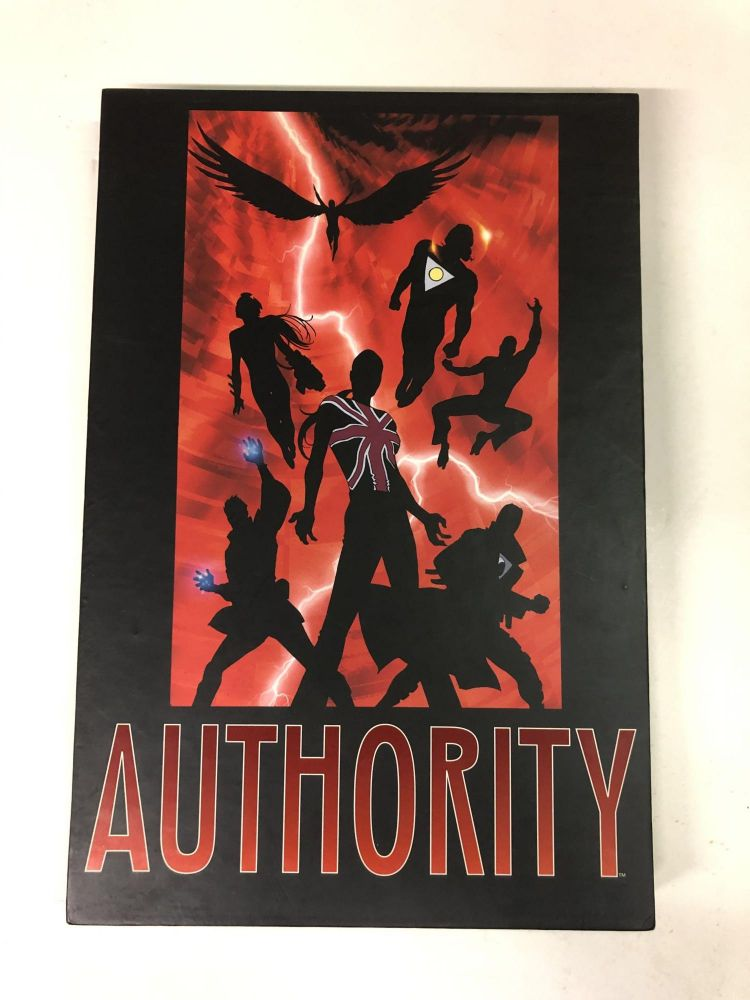 Absolute Authority. Warren Ellis.