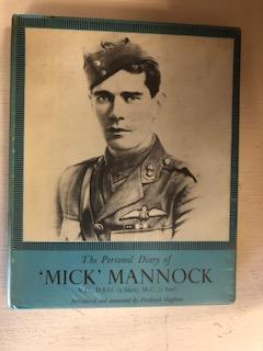 "Personal Diary of Major Edward ""Mick"" Mannock. Mick Mannock."