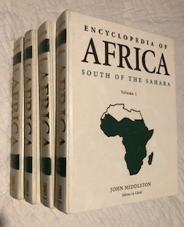 Encyclopedia of Africa South of the Sahara. John Middleton.