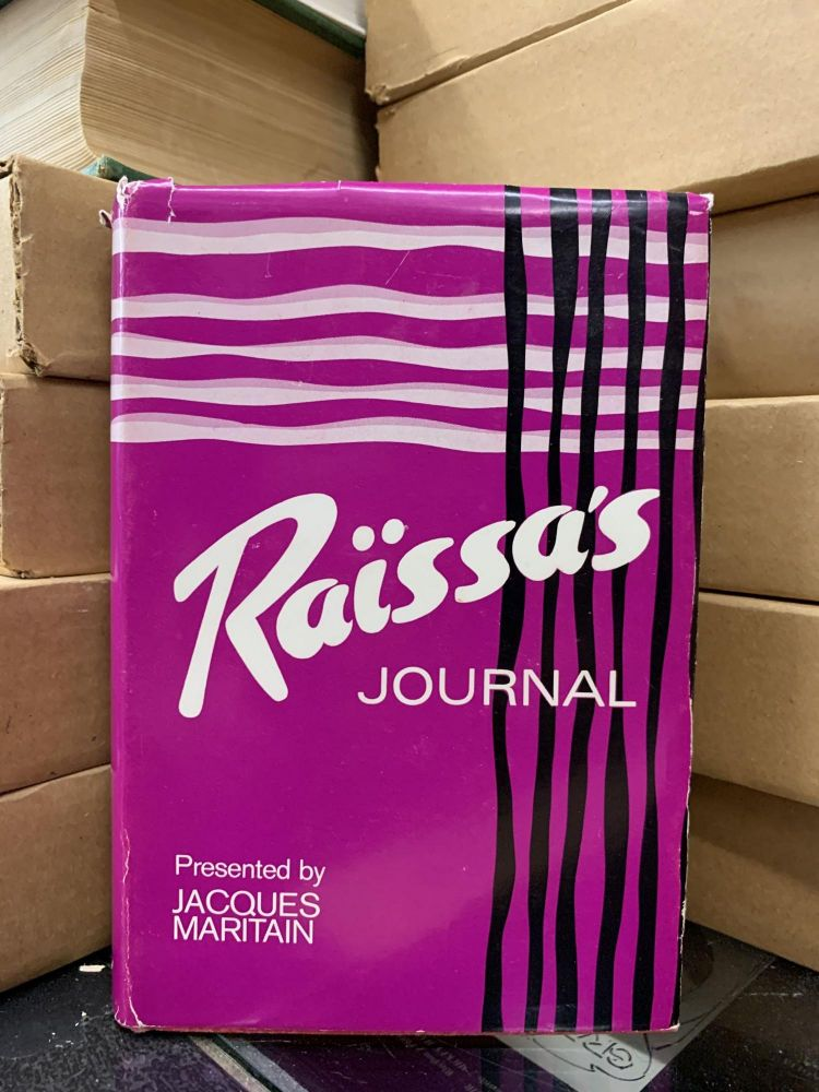 Raïssa's Journal. Raïssa Maritain.