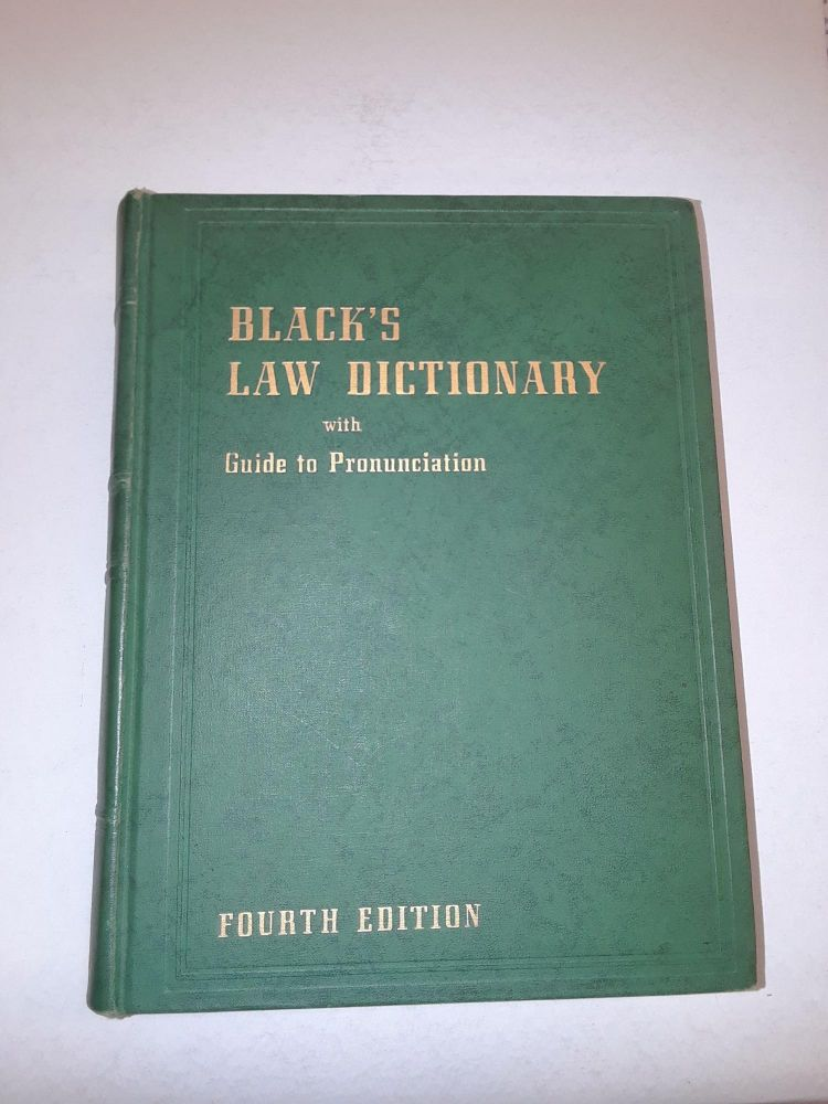 Black's Law Dictionary. Henry Campbell Black.