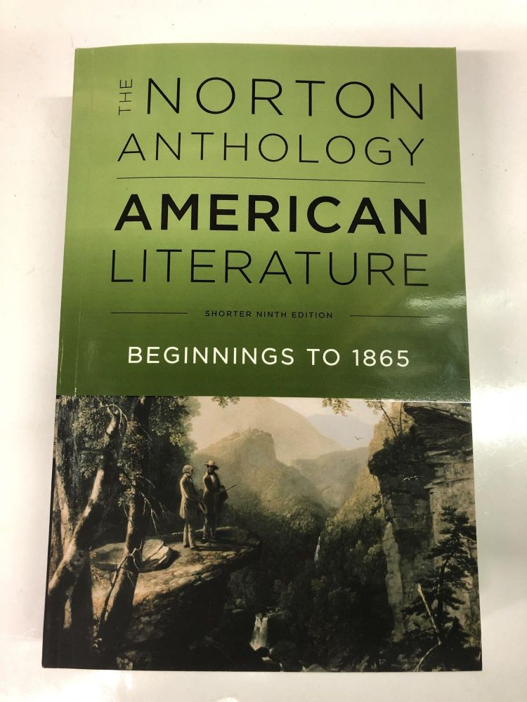 The Norton Anthology of American Literature (Shorter Ninth Edition) (Vol. Volume 1). Robert S. Levine.