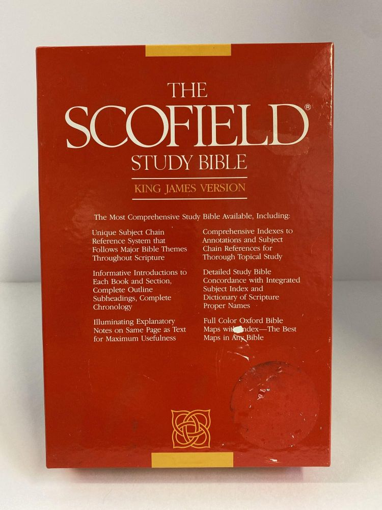 Scofield Study Bible: Bonded Leather