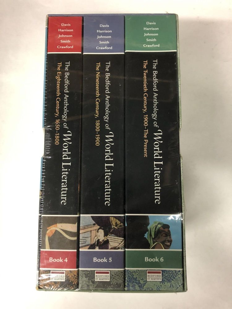 Bedford Anthology of World Literature Pack B (Volumes 4, 5, and 6). Paul Davis.