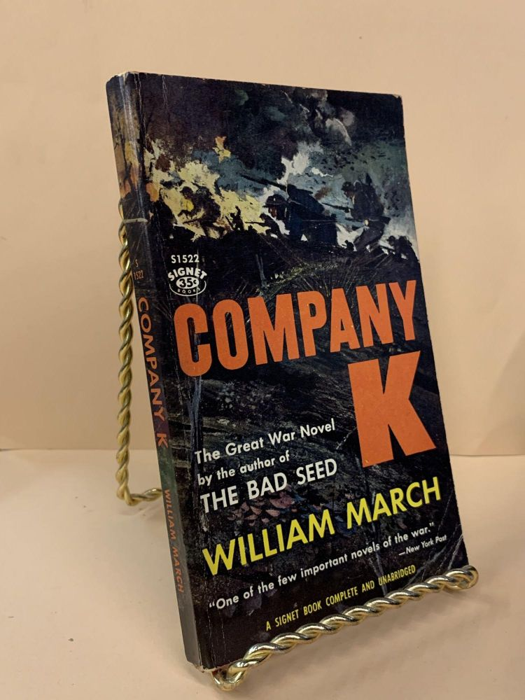 Company K. William March.