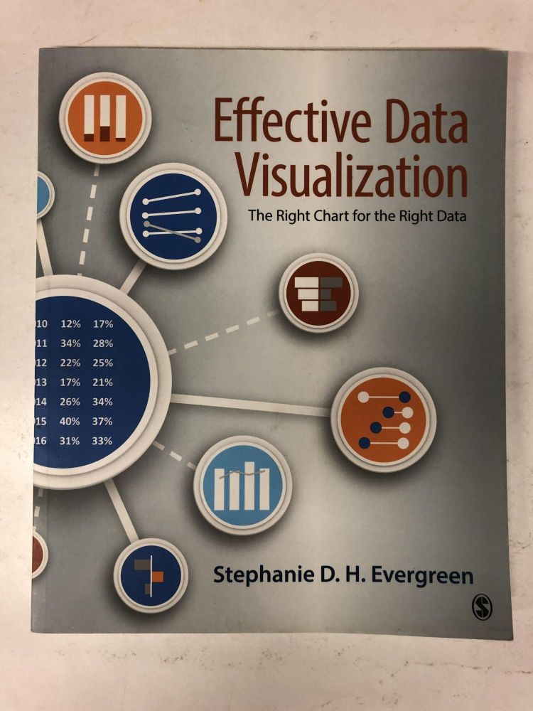 Effective Data Visualization: The Right Chart for the Right Data. Stephanie Evergreen.