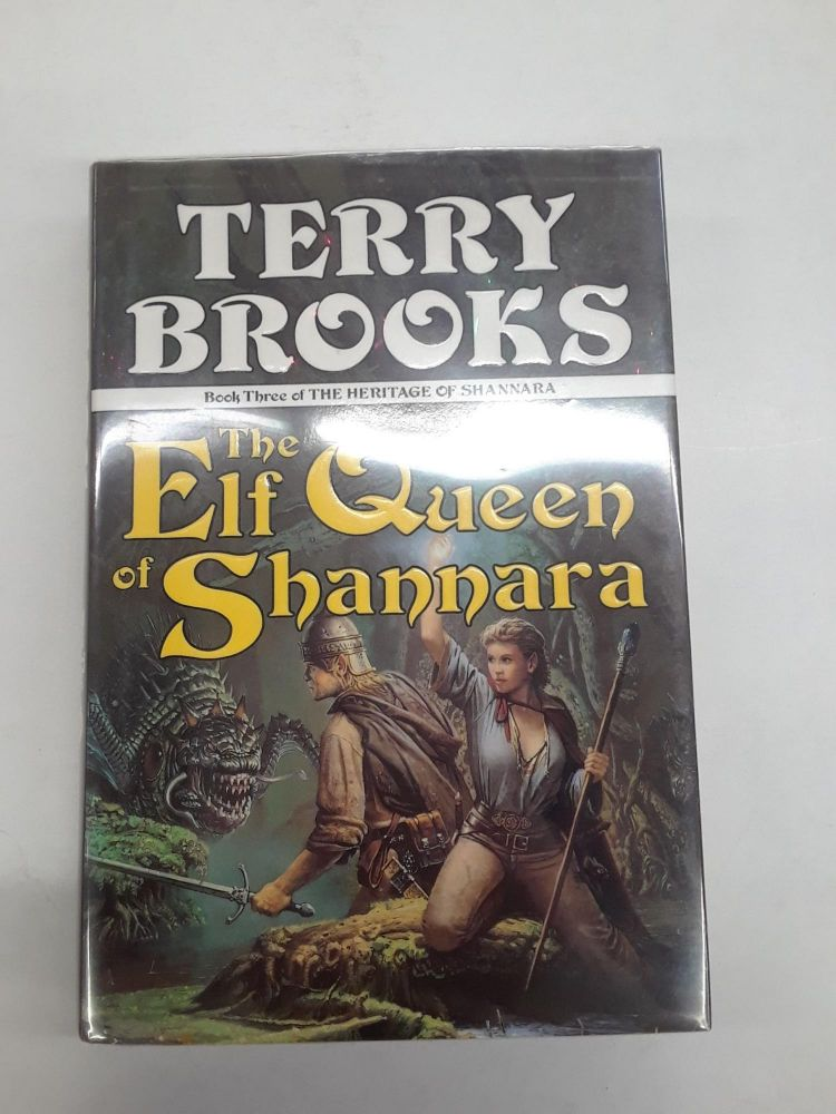 The Elf Queen of Shannara. Terry Brooks.