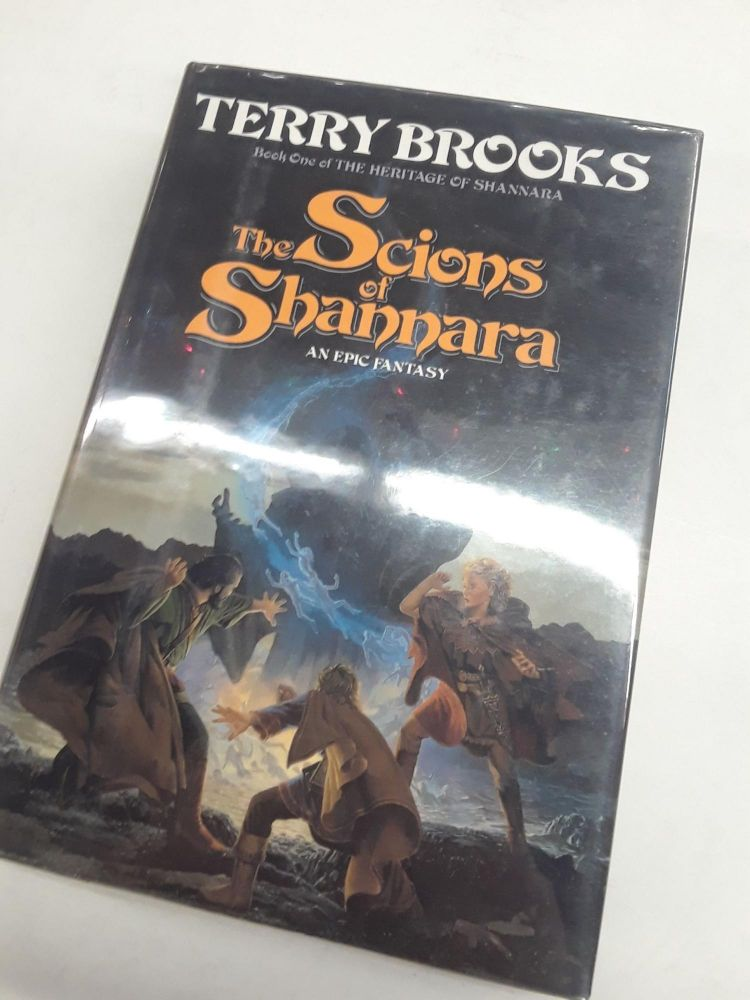 The Scions of Shannara. Terry Brooks.