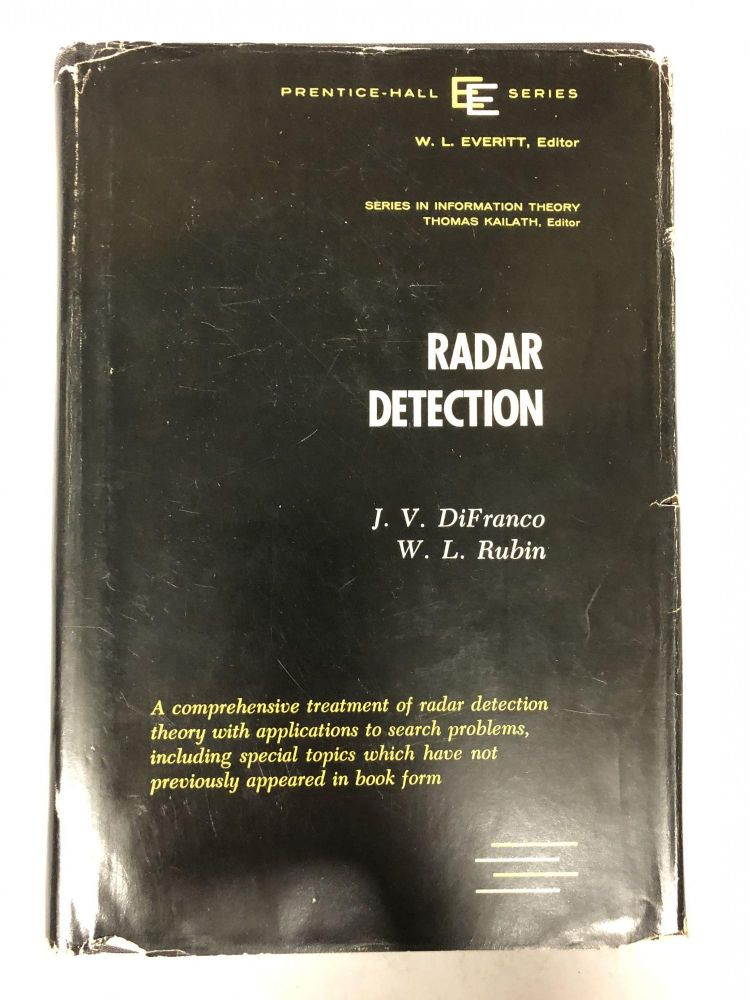 Radar Detection. J. V. DiFranco, W. L. Rubin.