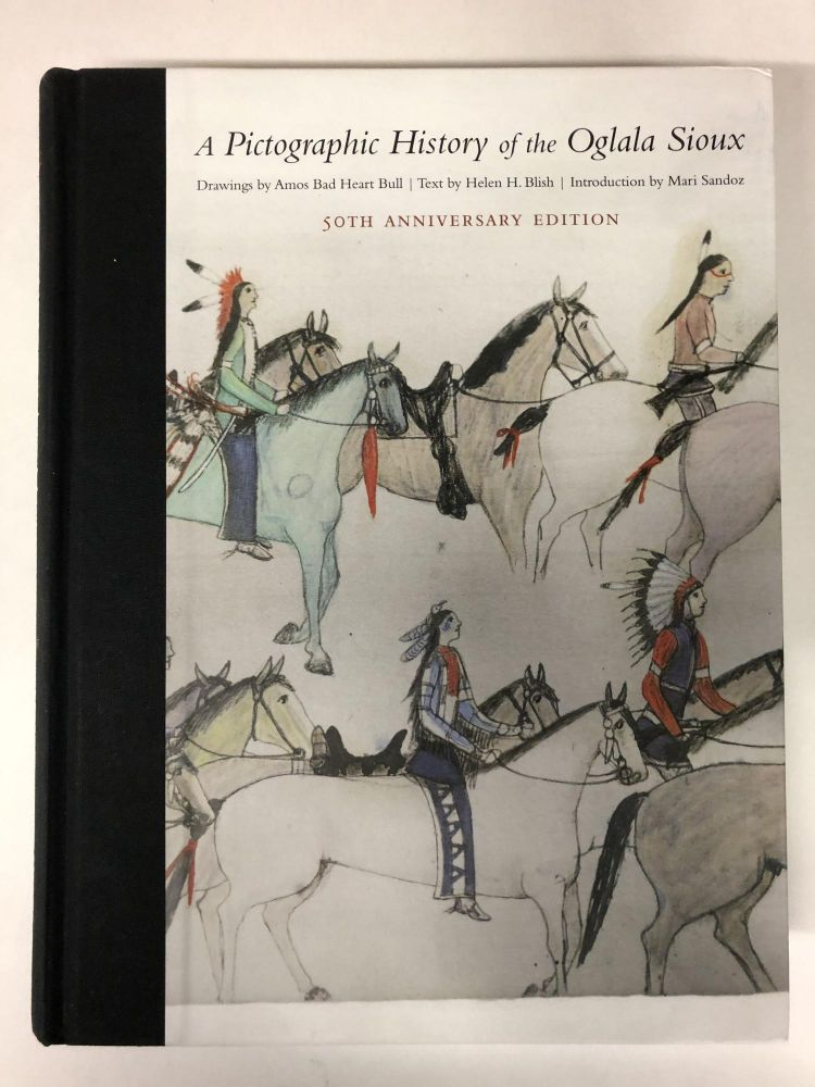 A Pictographic History of the Oglala Sioux. Helen H. Blish.