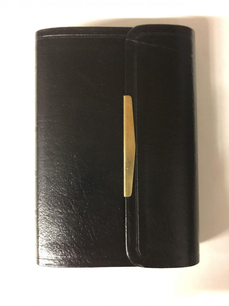 The Smallest Bible (NKJV, Black, Snap Flap Closing. Thomas Nelson.