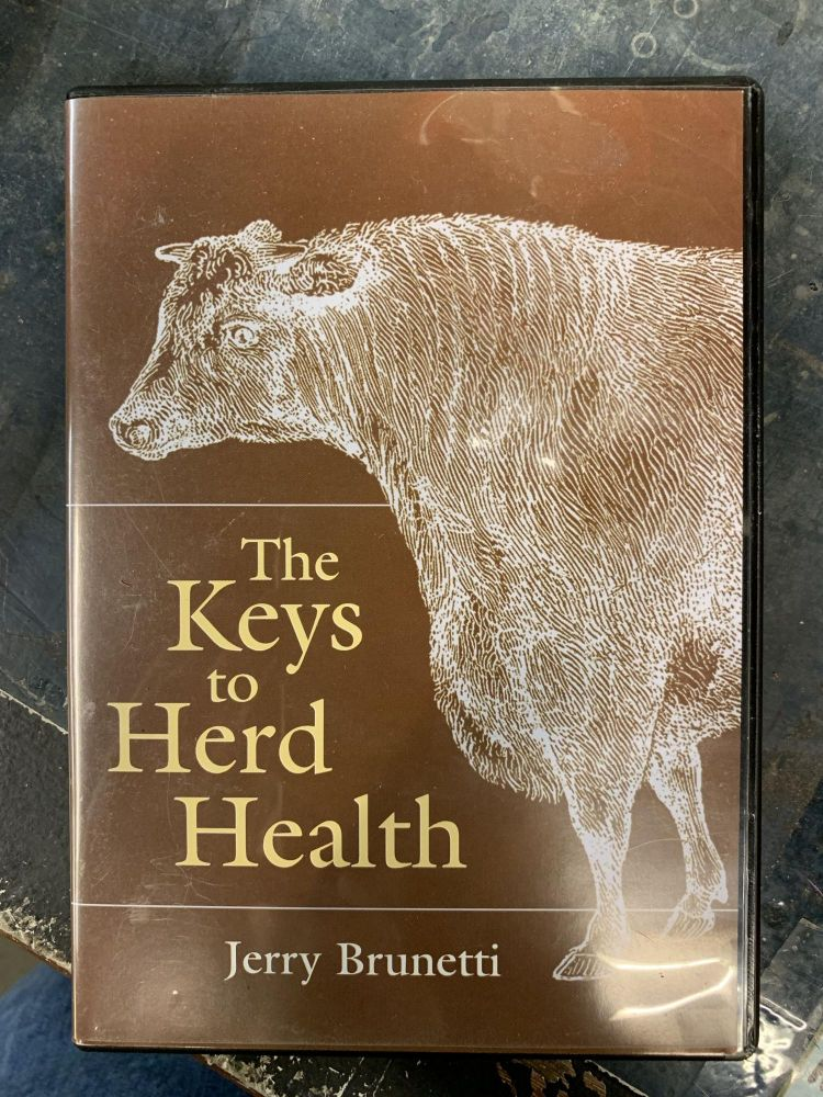 The Keys to Herd Health. Jerry Brunetti.