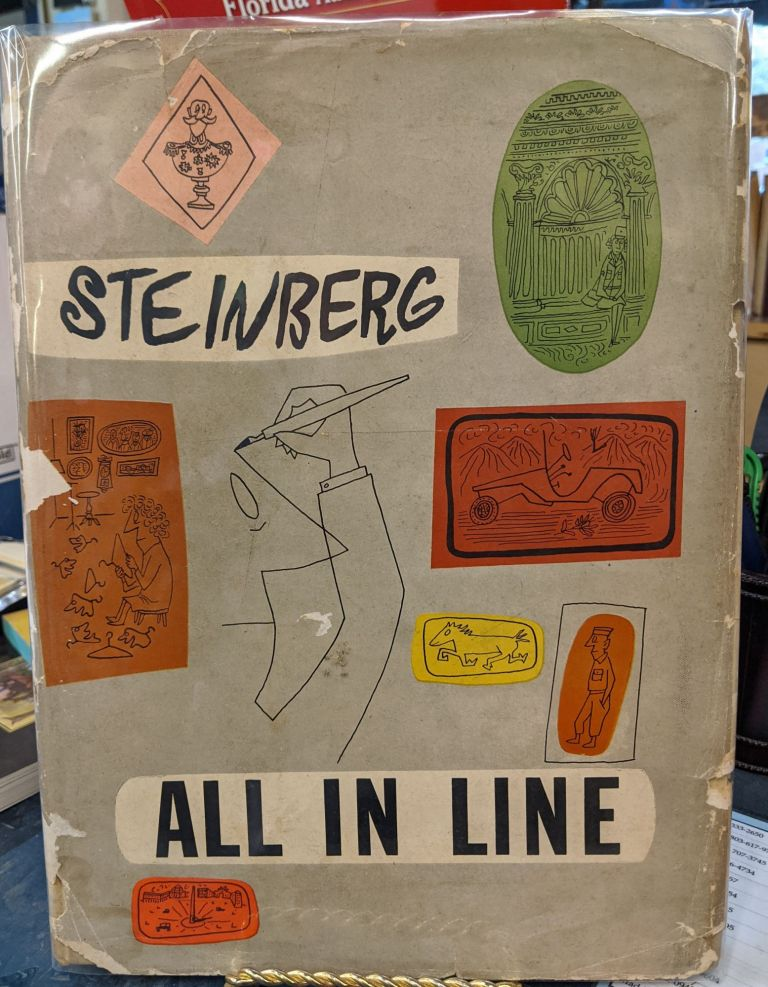 All In Line. Saul Steinberg.
