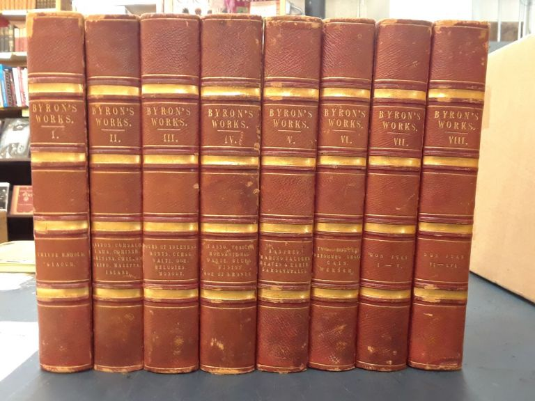 The Poetical Works of Lord Byron (8 volumes). John Murray.