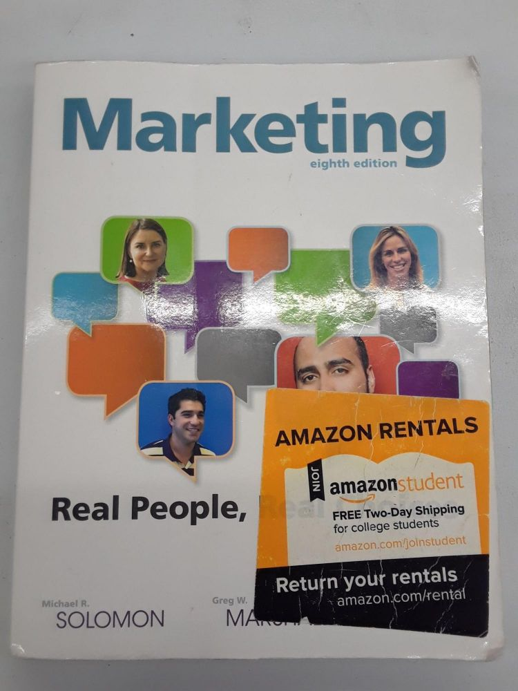 Marketing: Real People, Real Choices. Michael R. Solomon.