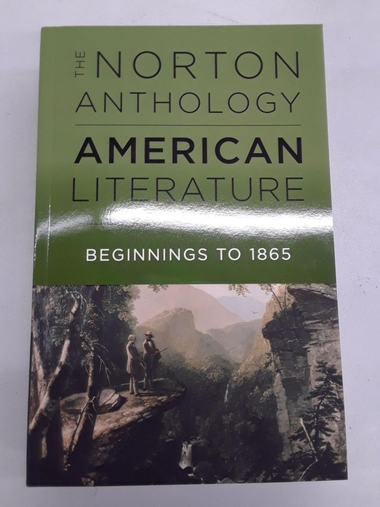 The Norton Anthology of American Literature. Robert S. Levine.
