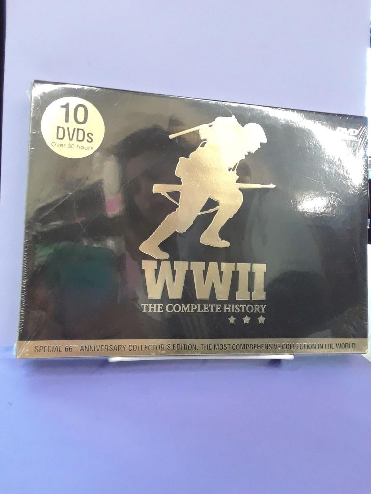 WWII: The Complete History. Madacy Home Video.