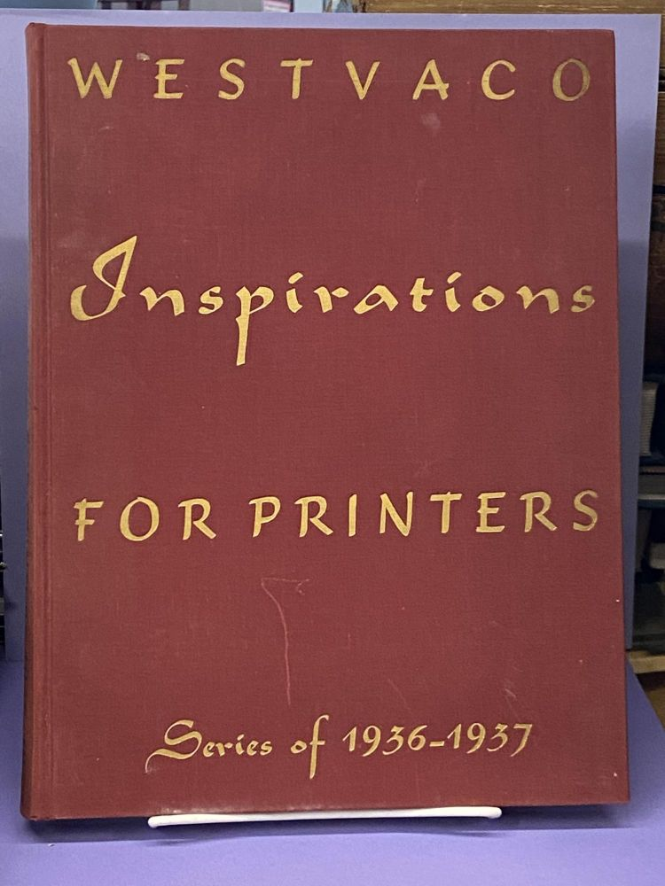 Westvaco Inspirations for Printers- Series of 1936-1937. Westvaco.