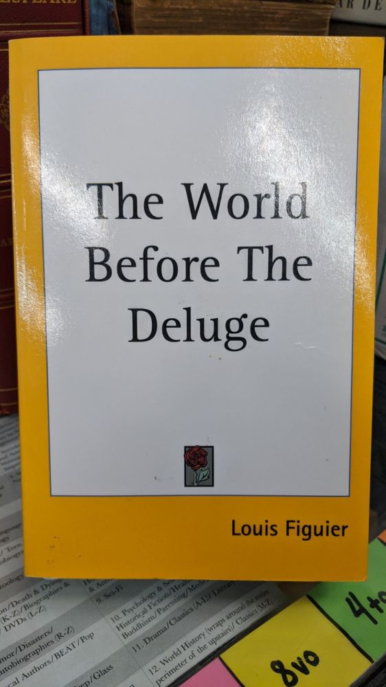 The World Before The Deluge. Louis Figuier.
