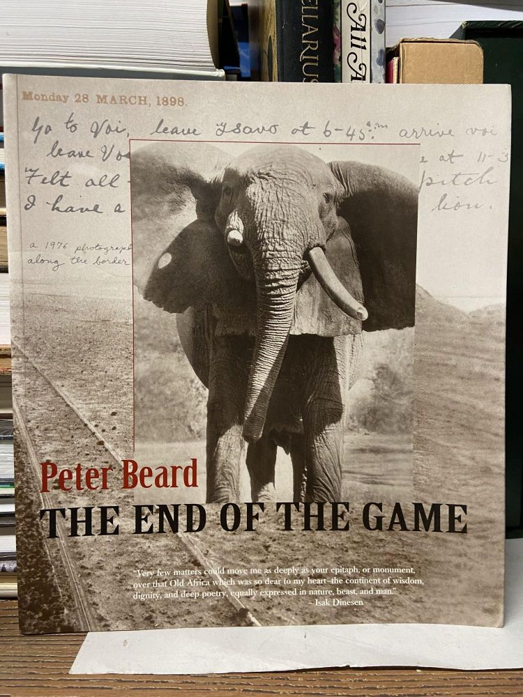 The End of the Game. Peter Beard.