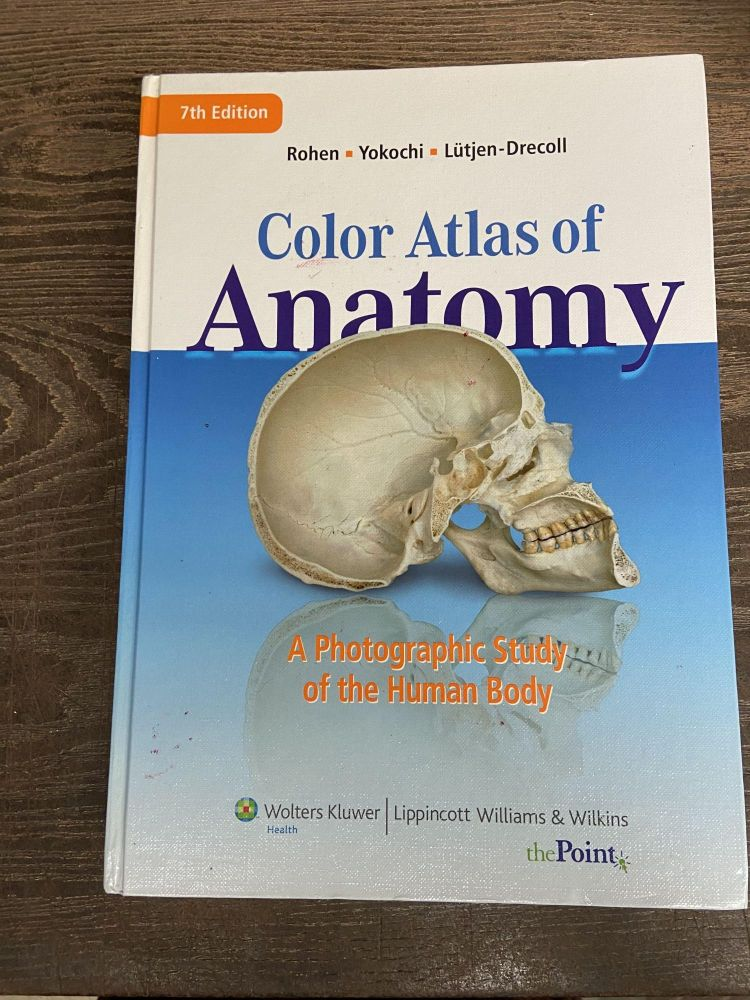 Color Atlas of Anatomy: A Photographic Study of the Human Body (Seventh Edition)