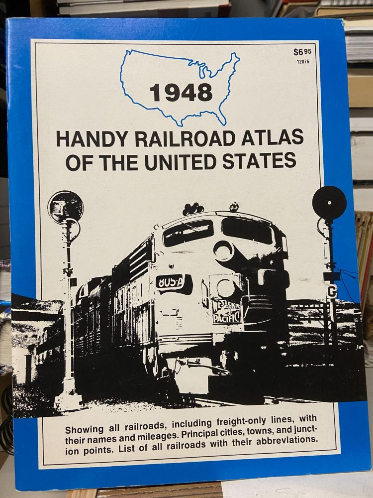 1948 Handy Railroad Atlas of the United States