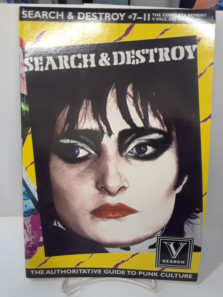 Search & Destroy #7-11: The Complete Reprint. V. Vale.