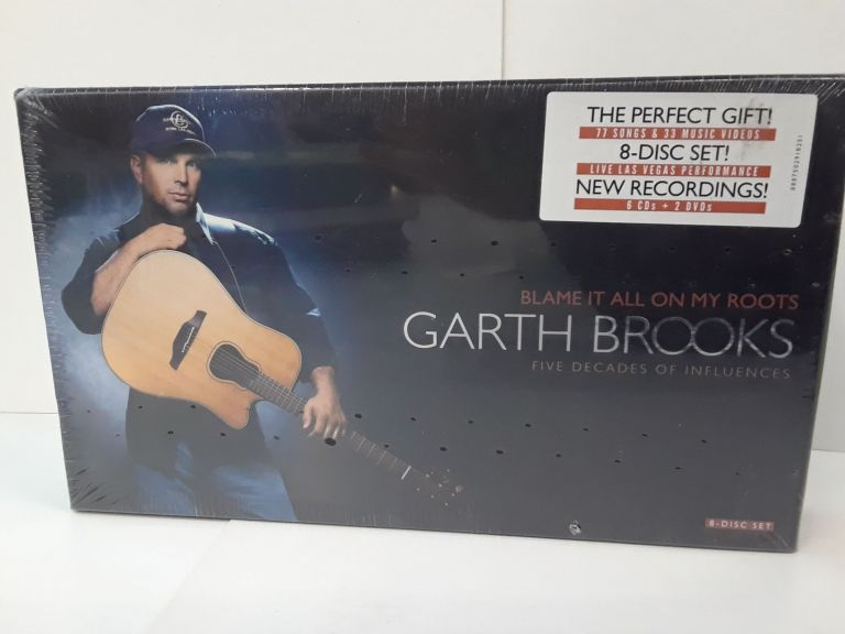 Garth Brooks – Blame It All On My Roots: Five Decades Of Influences