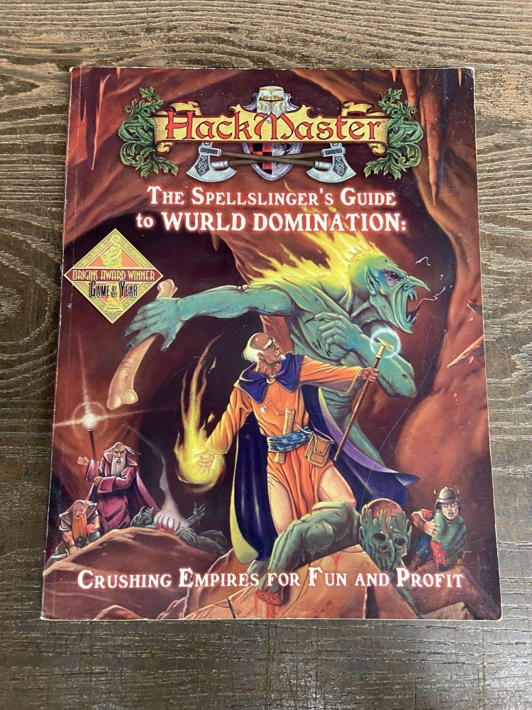 HackMaster: The Spellslinger's Guide to Wurld Domination
