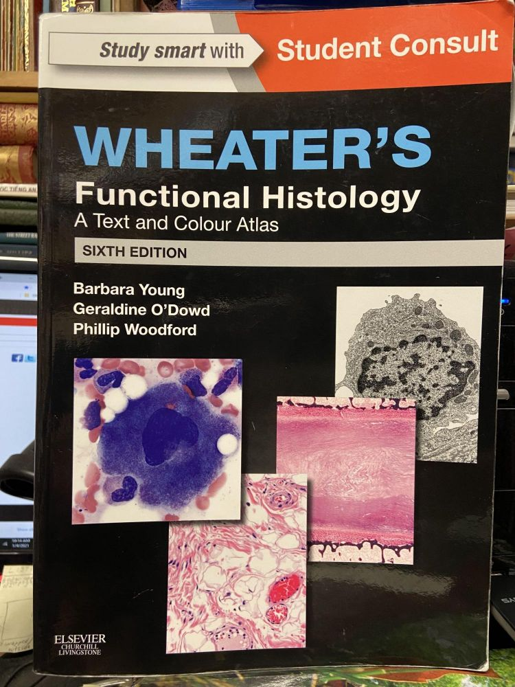 Wheater's Functional Histology: A Text and Colour Atlas (Sixth Edition). Barbara Young, Geraldine O'Dowd, Phillip Woodford.