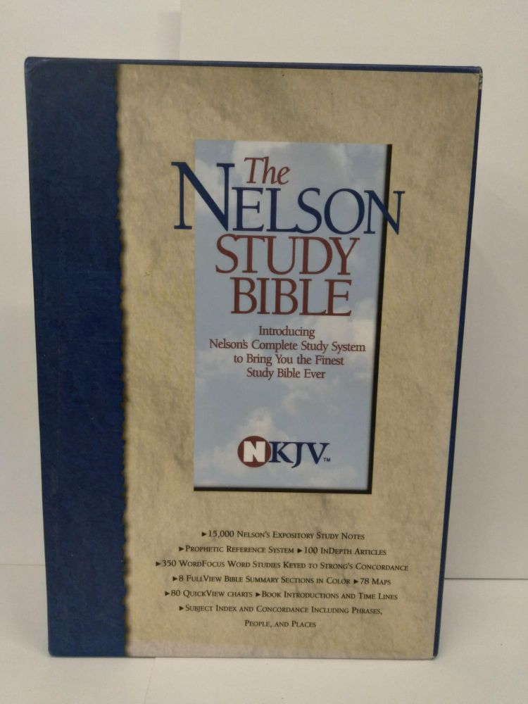 The Nelson Study Bible: New King James Version