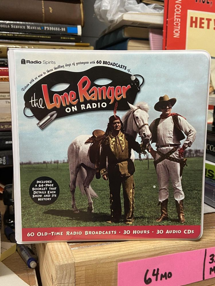 The Lone Ranger On Radio