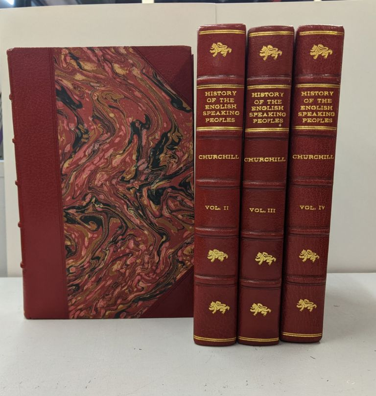History of the English Speaking Peoples (4 Volume Set). Winston Churchill.