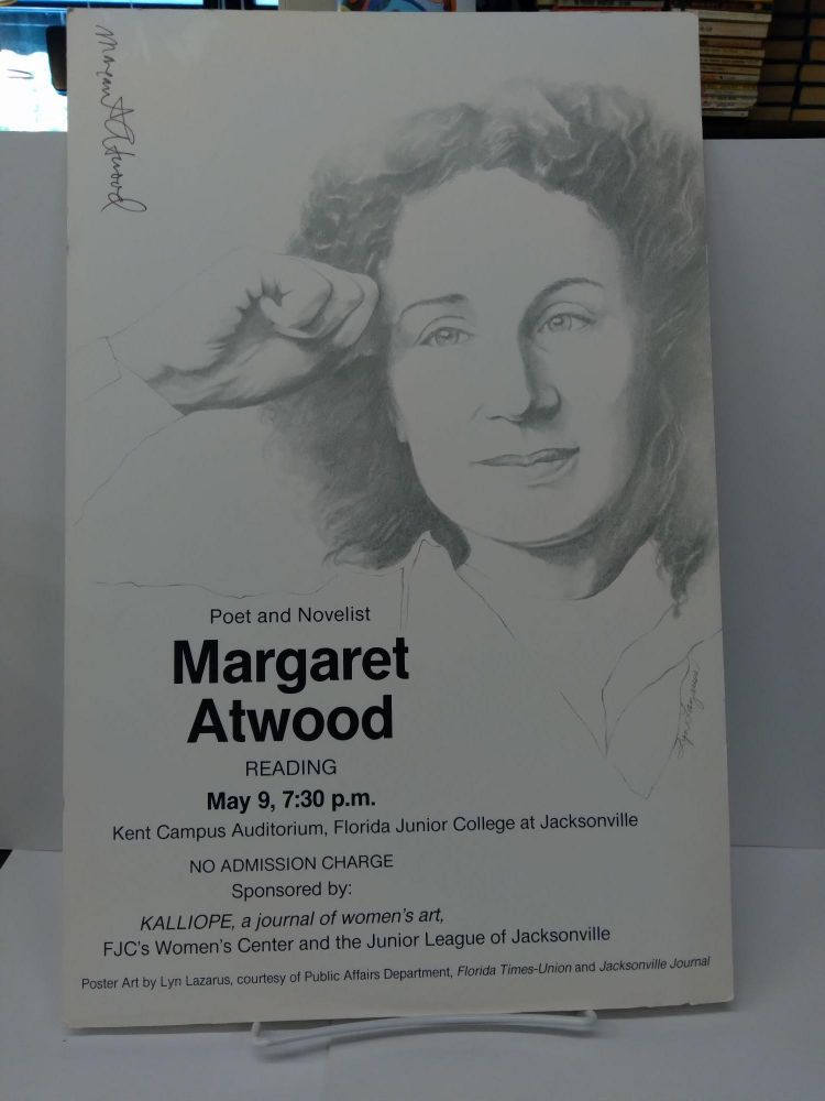 Signed Margaret Atwood Poster