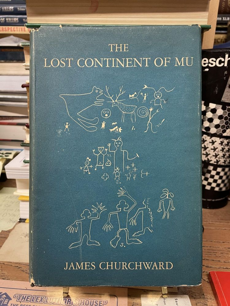 The Lost Continent of Mu. James Churchward.