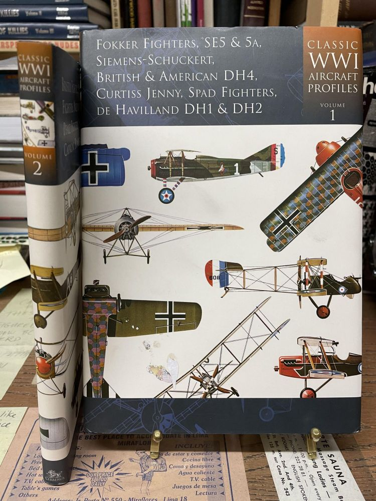 Classic WWI Aircraft Profiles (Two Volume Set)