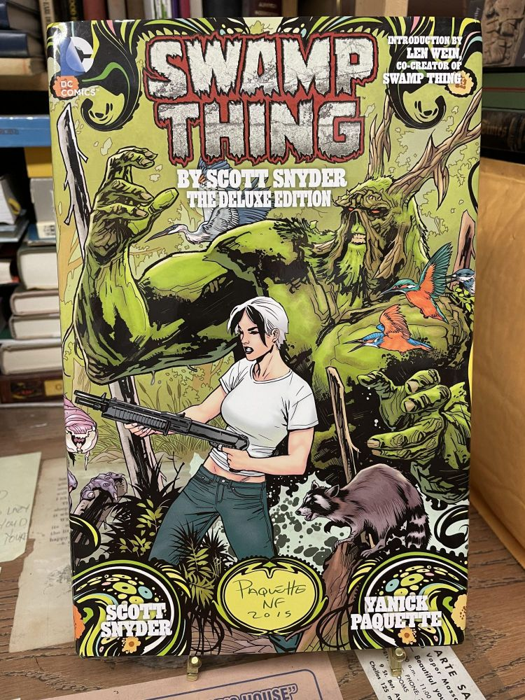 Swamp Thing (Deluxe Edition). Scott Snyder, Yanick Paquette.