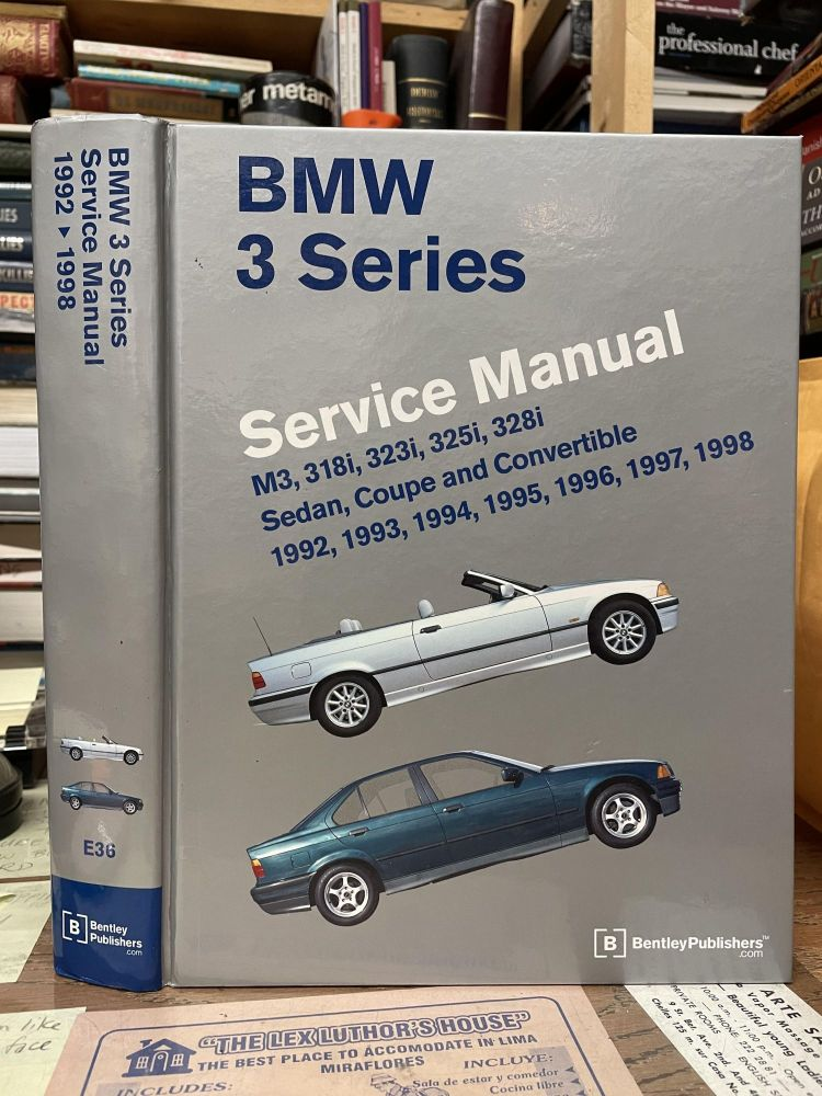 BMW 3 Series 1992-1998 Service Manual (E36)