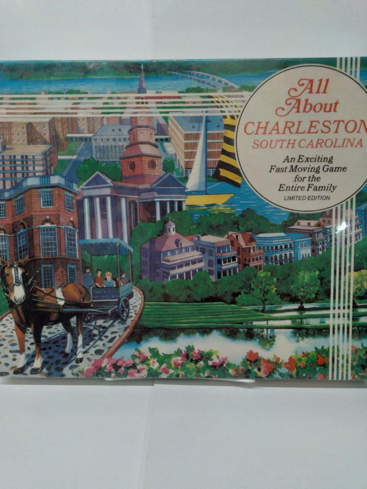 All About Charleston South Carolina: an exciting Fast Moving Game For the Family