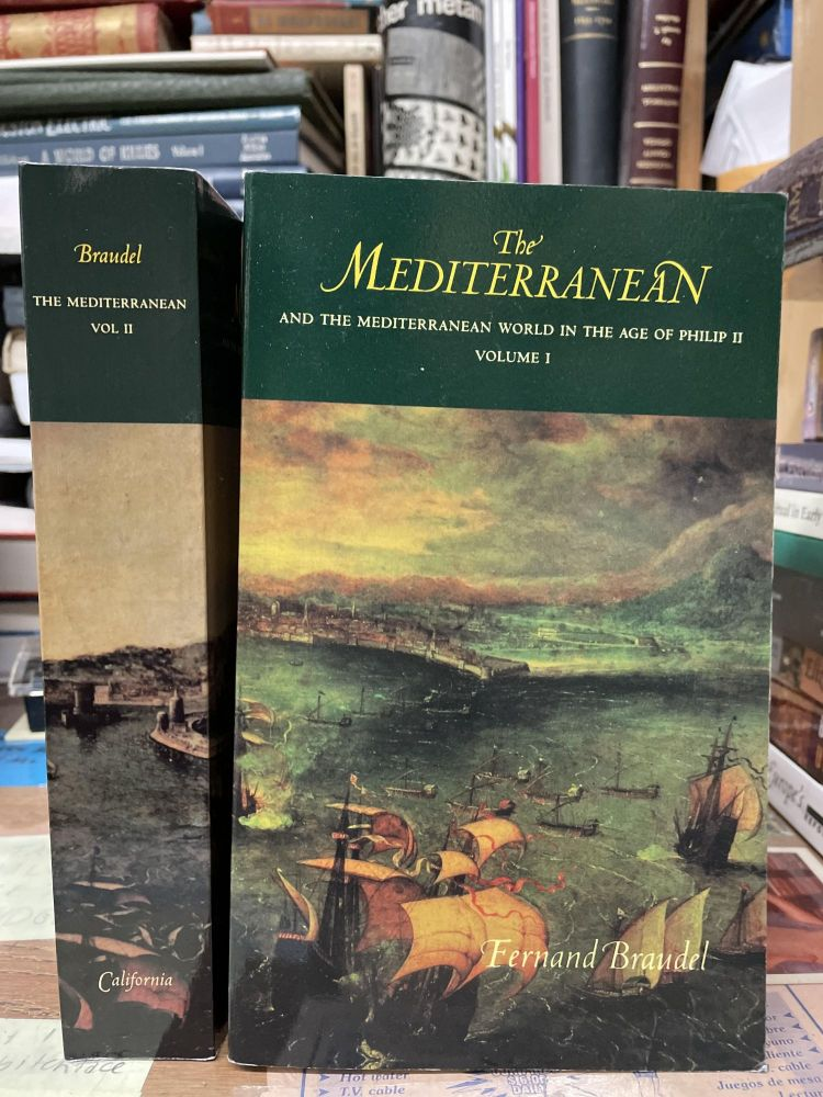 The Mediterranean and the Mediterranean World in the Age of Philip II (Two Volume Set). Fernand Braudel.