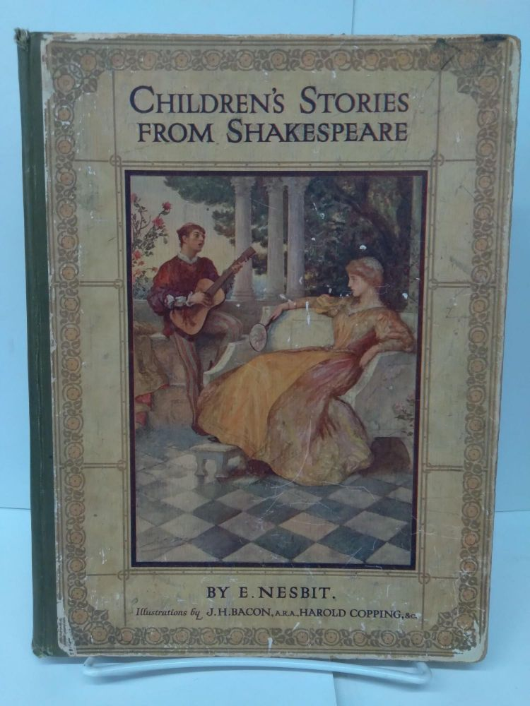 """Children's Stories From Shakespeare and """"When Shakespeare Was a Boy"""" E. Nesbit."""