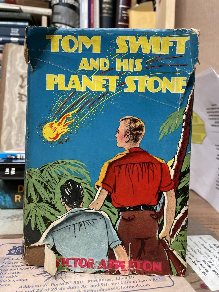 Tom Swift and his Planet Stone. Victor Appleton.