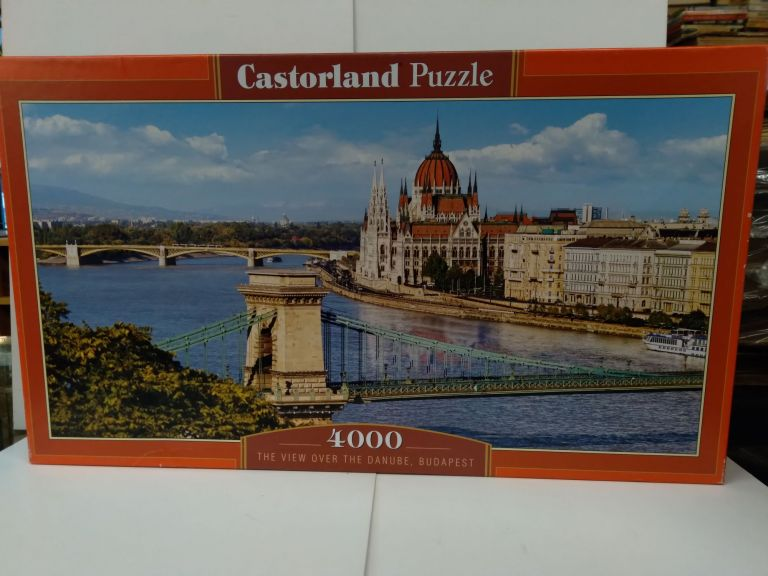 Castorland Puzzle 4000 Pieces: The View Over the Danube, Budapest