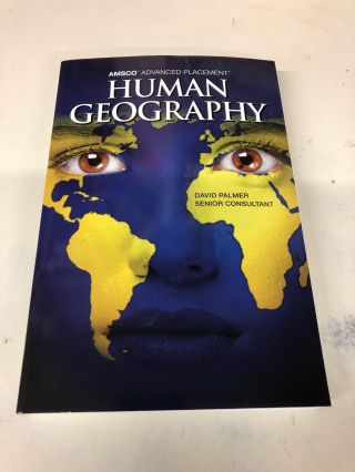 Amsco Advanced Placement Human Geography. David Palmer
