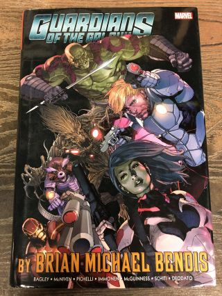 Guardians of the Galaxy by Brian Michael Bendis Vol. 1 Omnibus. Brian Michael Bendis